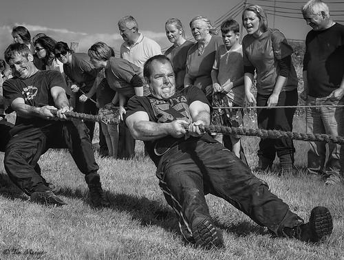Tug of War Boys Team_4_BW