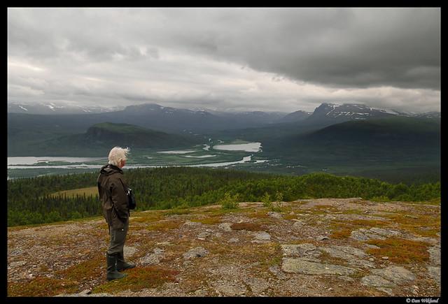 Overlooking Kvikkjokk