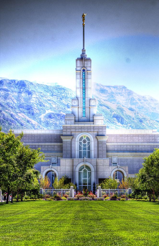 Mormon Temple Cedar City Utah