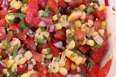 pico de gallo, panzanella, salad, vegetable, food, dish, cuisine,