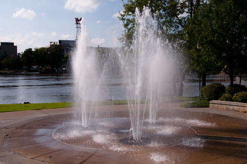 Millenium Fountain in Rockford, Illinois