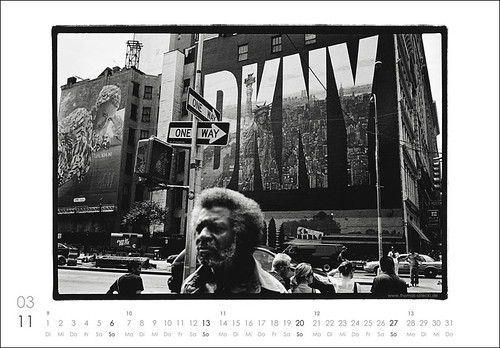 New York Kalender 2011 (März)