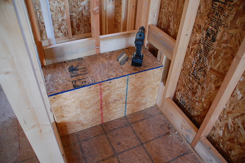 Diy shower bench 28 images how to install a shower for Rough cost to build a house