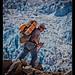 Warner hiking to glacier camp, Chopicalqui (2)