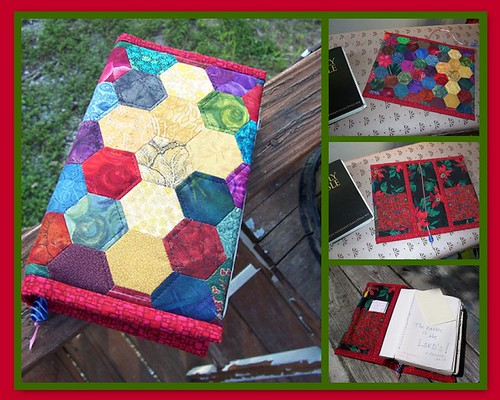 Mosaic of Hexagon Bible cover