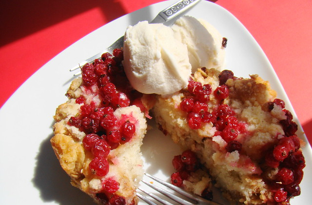 Bread Pudding with Red Currants | Here is the recipe: Grease ...