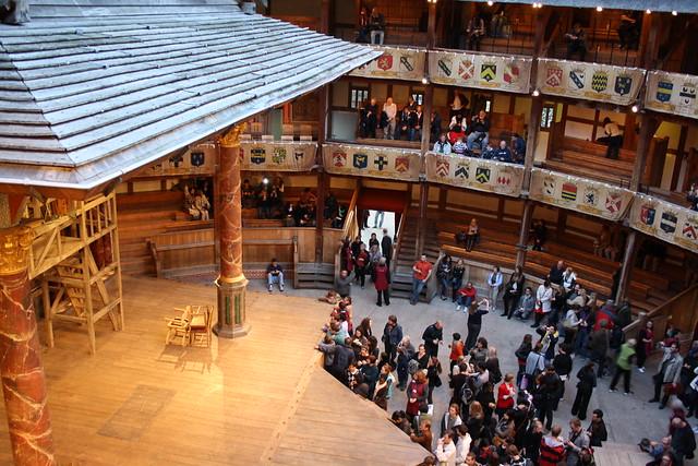 Inside Shakespeare's Globe Theatre