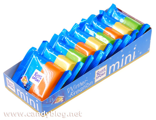 Ritter Sport Minis - Winter Kreations