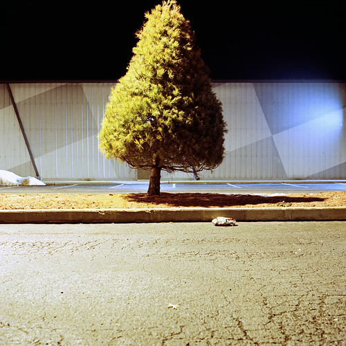 tree 120 6x6 tlr film night mediumformat exposure theater pittsburgh kodak pennsylvania parking lot 15 chemistry february portra 800 seconds kmart bridgeville yashicamat c41 2011 160nc unicolor 90f destina newtopographics