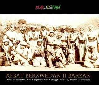 Peshmerge kurdistan Barzan