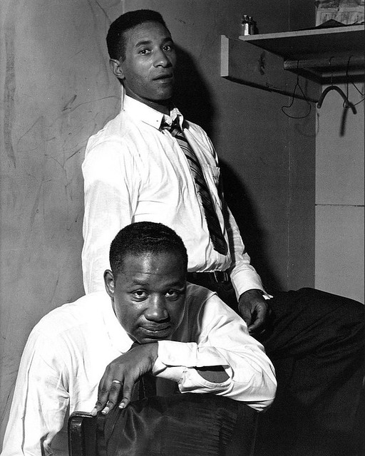Clifford Brown & Max Roach, by Herman Leonard