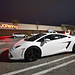 White Lamborghini Luxury Car 142