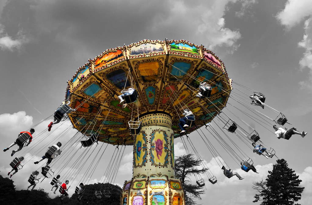 Life is a merry-go-round...
