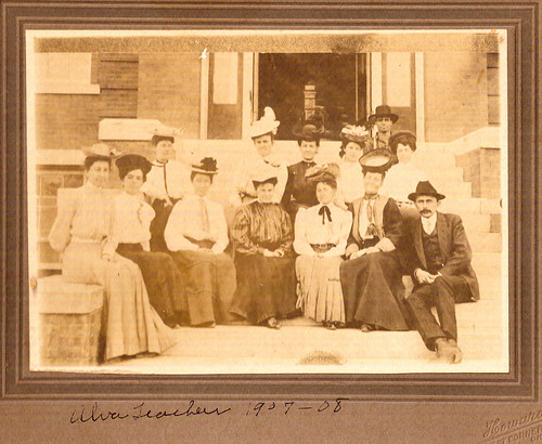 Alva Westside teachers 1907-08 by NWOkie