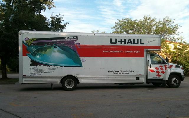 U Haul 20 Foot Truck >> U-Haul Truck - Delaware - Horseshoe Crab IMG_0074 - a photo on Flickriver