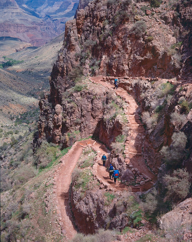 408 Bright Angel Trail - Grand Canyon - Jacob's Ladder
