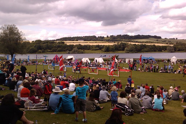 Linlithgow is nice but quaint. Apparently they still do jousting at  the weekend!