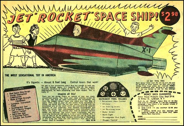 ... $2.98 spaceship!