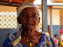 Moira Wassul, comadrona en un centro de salud de Cabo Delgado (Mozambique)