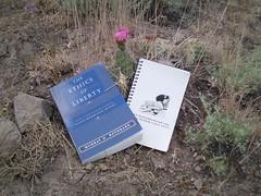 Flowering Cactus w/ The Ethics of Liberty & #FBC notepad