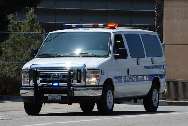 irvine police department ford club wagon van flickr photo sharing. Black Bedroom Furniture Sets. Home Design Ideas