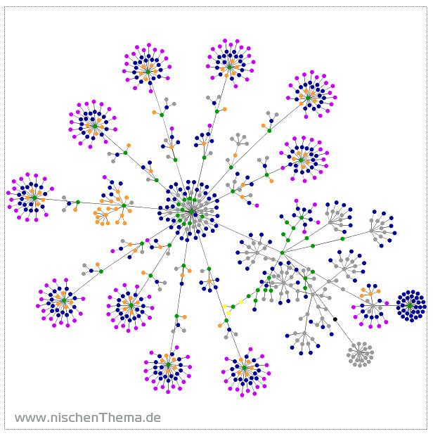 Netzwerk-Visualisierung