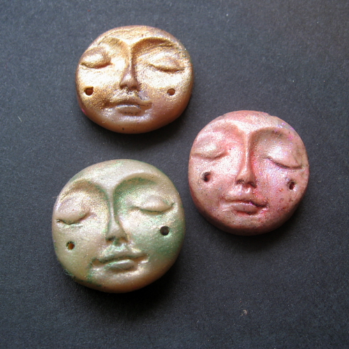 how to put a face on polymer clay