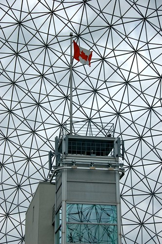 Inside the Biosphere, Montreal