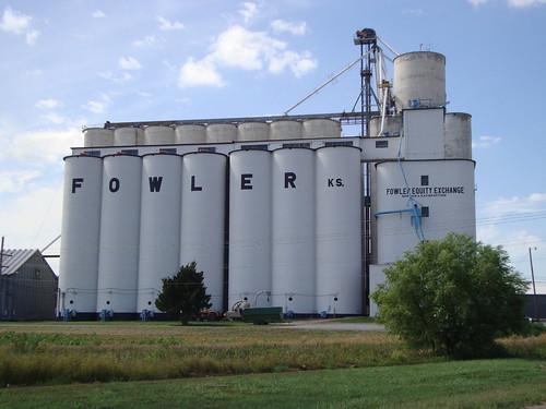 Fowler Grain Elevator (Fowler, Kansas)