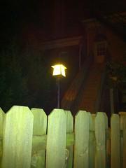 Light polluting at 1207 Cherokee