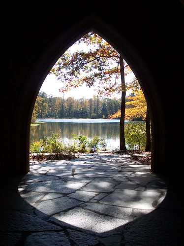 Through Arch to Lake