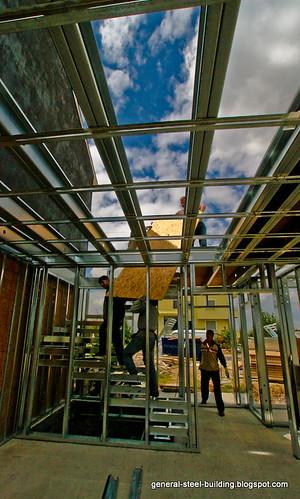 modular house building