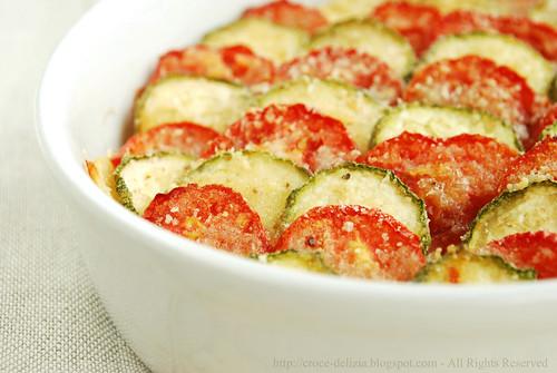 Verdure al forno for Cucinare zucchine al forno