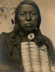 Sioux male, 1898, by Gertrude Käsebier
