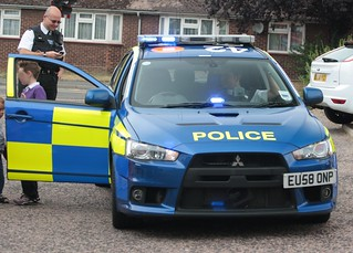 Essex Police Interceptor Car