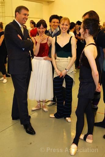 The Duke of York at the English National Ballet