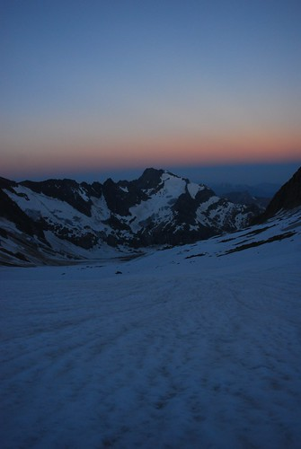 mountains alpes sunrise twilight rando alpi montblanc 2010 hautesavoie miage domesdemiage