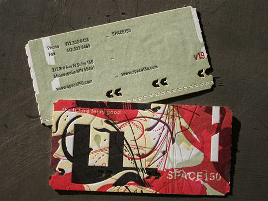Space 150's Business Card