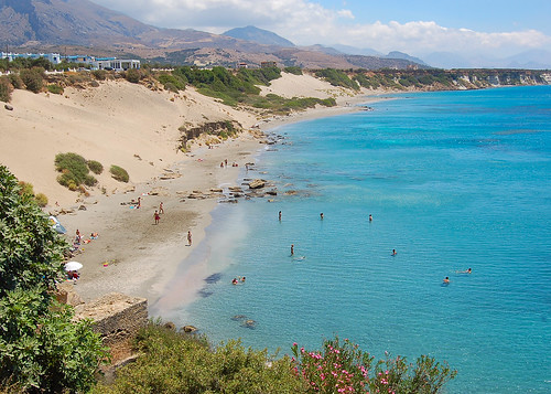 Scenes from Frangokastello on the Greek island of Crete