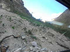 moraine(0.0), ridge(0.0), mountain pass(0.0), mountain(1.0), landslide(1.0), rockfall(1.0), geology(1.0), terrain(1.0), wadi(1.0), mountainous landforms(1.0),
