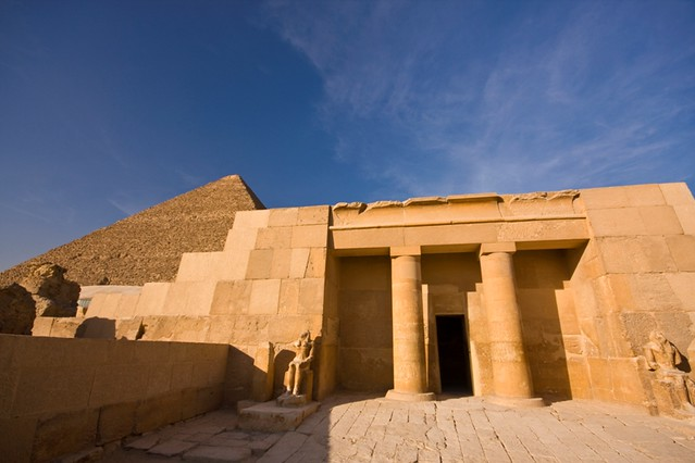 Mortuary Temple and Great Pyramid