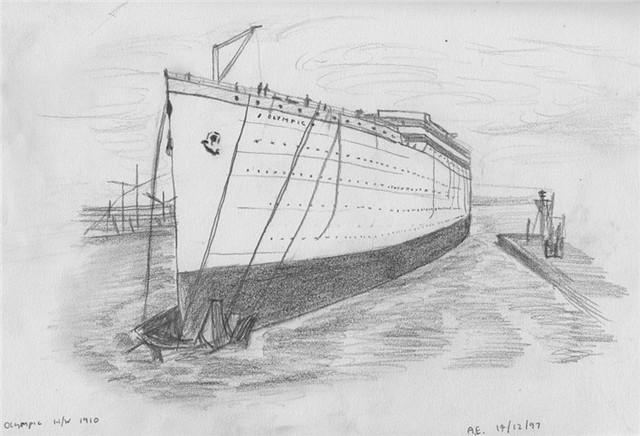 How To Draw Britannic Britannic Coloring Pages
