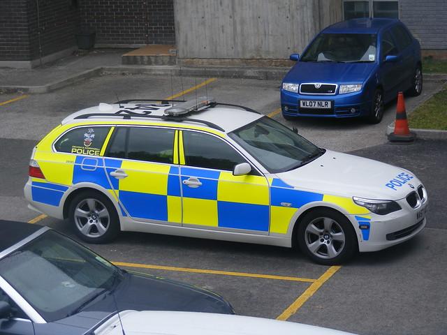 Devon and Cornwall Police BMW Traffic Car