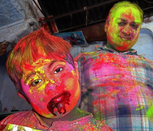 Holi Festival of Colours, Jaipur