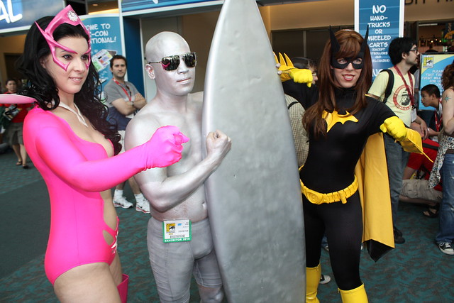 Silver Surfer Cosplay - Images Gallery