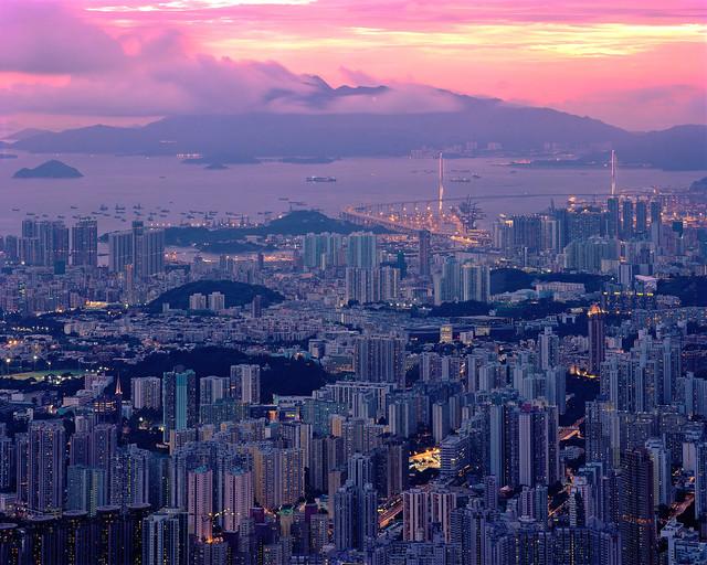 Hong Kong #58 -drumscan