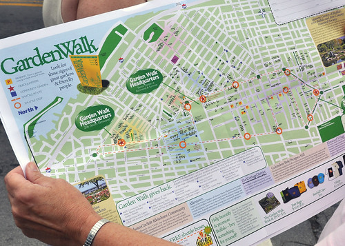 Buffalo Garden Walk - Map