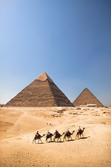 'The Pyramids', Egypt, Giza, Pyramids