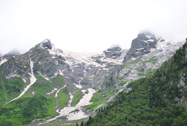 morning glacial