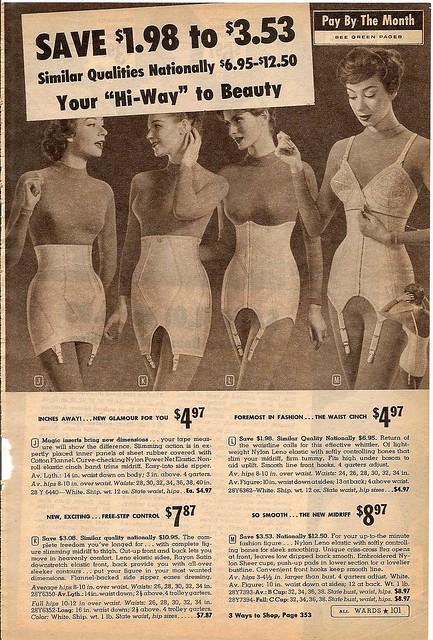 vintage lingerie catalogs related keywords vintage. Black Bedroom Furniture Sets. Home Design Ideas
